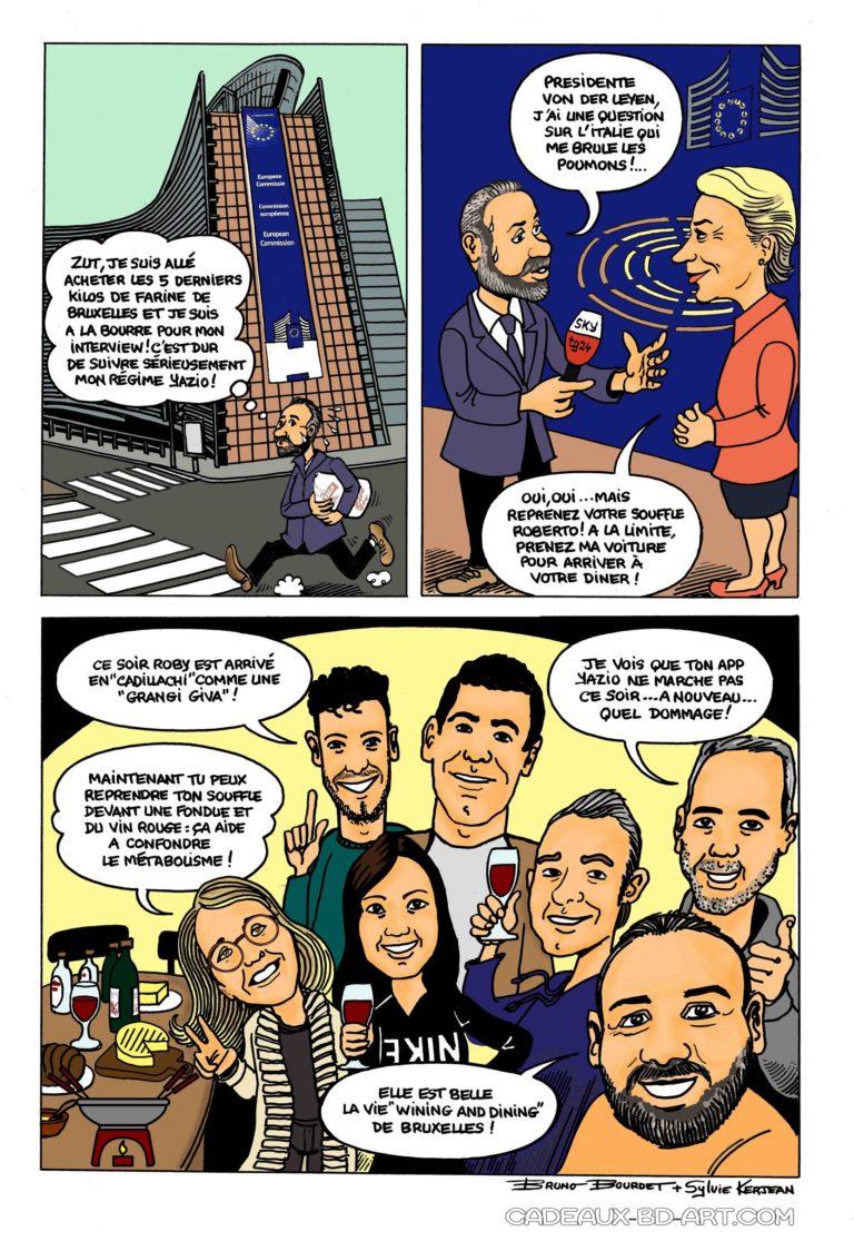 BD journaliste commission européenne